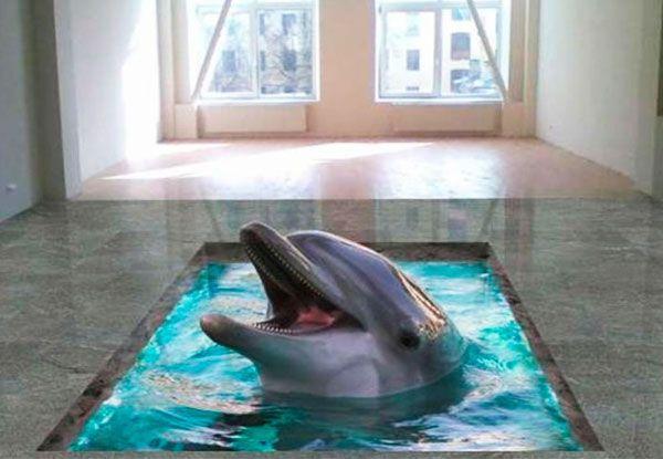 Наливной пол дельфин фото художественные наливные полы 3д фото цены